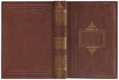 Старая открытая книга 1900 Стоковая Фотография RF