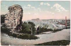 Старая открытка между 1935-1955 стоковые изображения rf