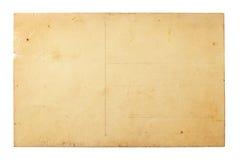 Старая открытка Стоковые Фото