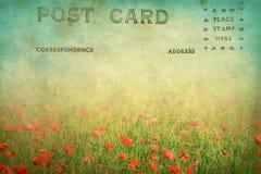 старая открытка Стоковая Фотография RF