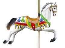 Старая лошадь carousel Стоковое Изображение