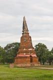 Старая пагода на Ayuthaya стоковая фотография rf
