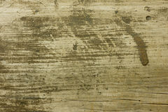 Старая пакостная и поцарапанная древесина Стоковые Изображения