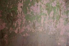 Старая пакостная стена Стоковая Фотография