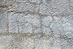 Старая пакостная текстура, серая предпосылка стены Стоковое фото RF