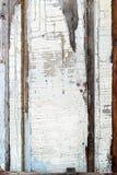 Старая панель с треснутой краской, предпосылкой Стоковое Фото