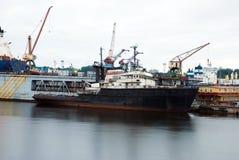 старая перевозка корабля стоковое изображение rf