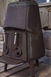Старая печка стоковое изображение rf