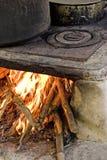старая печка Стоковая Фотография