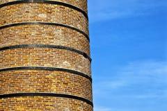 Старая печная труба здания архитектуры Стоковая Фотография RF