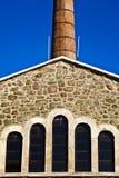 Старая печная труба здания архитектуры Стоковые Изображения