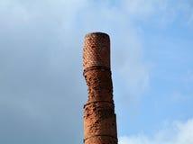Старая печная труба кирпича Стоковые Фотографии RF
