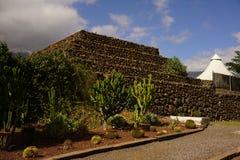 Старая пирамида Guanches Стоковое Изображение RF
