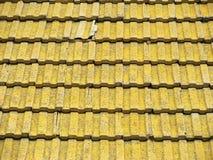 старая плитка крыши Стоковое Изображение