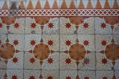 Старая плитка мозаики стоковое фото