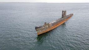 Старая подводная лодка 03 стоковая фотография rf