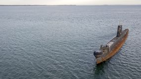 Старая подводная лодка 04 стоковые изображения rf