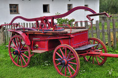 Старая пожарная машина Стоковые Фотографии RF