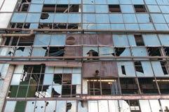 Старая, покинутая фабрика Стоковое Изображение