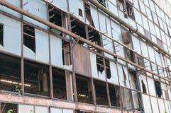 Старая, покинутая фабрика Стоковое фото RF