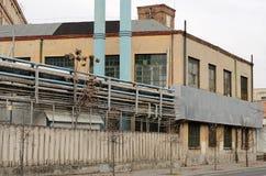 Старая покинутая фабрика Стоковое Фото