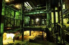 Старая покинутая фабрика Стоковая Фотография RF