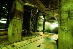 Старая покинутая фабрика Стоковые Фотографии RF