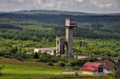 Старая покинутая шахта Стоковое Изображение RF