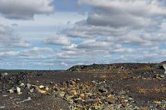 Старая покинутая шахта Стоковое Фото