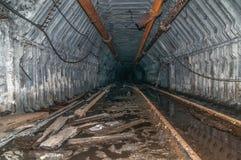 Старая покинутая шахта Стоковая Фотография RF
