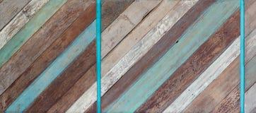 Старая покрашенная деревянная текстура предпосылки Стоковые Фото