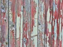 Старая покрашенная деревянная предпосылка Стоковая Фотография RF