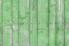 Старая покрашенная деревянная стена - текстура или предпосылка Стоковые Фотографии RF