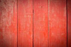Старая покрашенная деревянная стена - текстура или предпосылка Стоковая Фотография RF