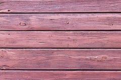 Старая покрашенная деревянная стена Стоковые Изображения RF