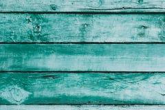 Старая покрашенная деревянная текстура стены Стоковое Фото