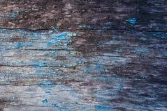 старая покрашенная поверхностная древесина Стоковая Фотография RF