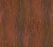 Старая покрашенная древесина с откалыванной красной краской Стоковое фото RF