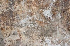 старая покрашенная стена Стоковая Фотография RF