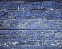 старая покрашенная текстура деревянная Стоковые Изображения