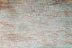 старая покрашенная текстура деревянная Стоковое фото RF