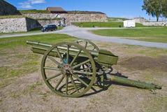 Старая полевая пушка Стоковое Изображение