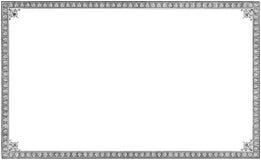 Старая постаретая grungy винтажная гравировка виньетки книги, изолированная бумажная чернота страницы листа выгравировала обрамле Стоковая Фотография RF