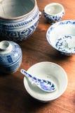 Старая посуда стоковая фотография rf