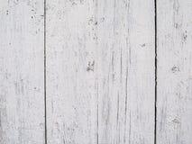 Старая поцарапанная покрашенная белизна всходит на борт предпосылки Стоковая Фотография RF