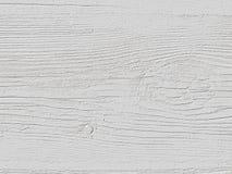 Старая поцарапанная покрашенная белизна всходит на борт предпосылки Стоковое Изображение