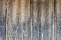 Старая поцарапанная стена металла Стоковая Фотография