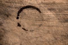 старая поцарапанная таблица деревянная стоковые фотографии rf