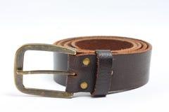 старая пояса коричневая Стоковое Изображение