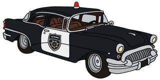 Старая полицейская машина Стоковая Фотография RF